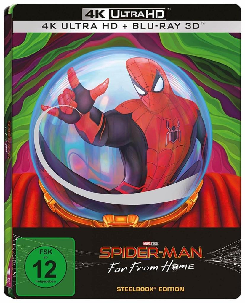 Spider-Man Far From Home 4K - 3D Steelbook