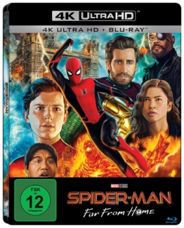 Spider-Man Far From Home (4K und Blu-ray Steelbook)