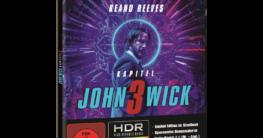 John Wick: Kapitel 3 (Limited Steelbook) [4K Ultra HD Blu-ray + Blu-ray]