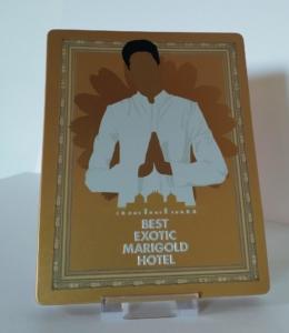 Best Exotic Marigold Hotel Blu-ray Futurepak Vorderseite