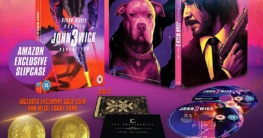 John Wick Chapter 3 – Parabellum amazon steelbook