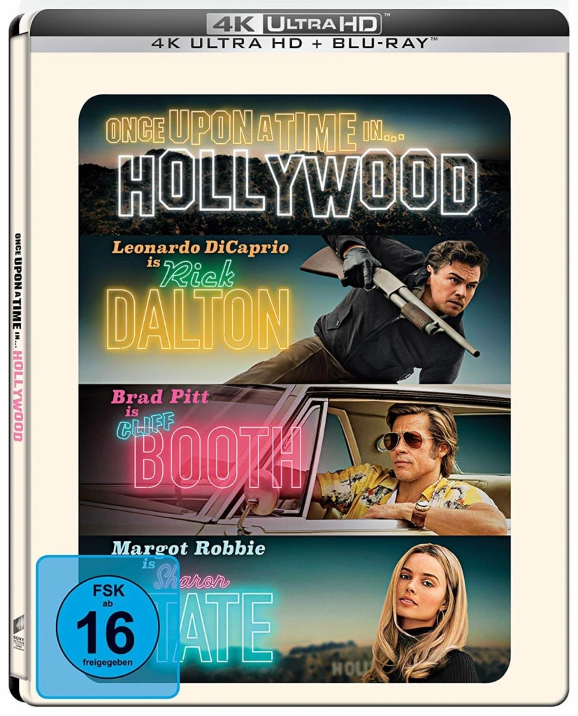 Once Upon A Time In Hollywood 4K UHD Steelbook
