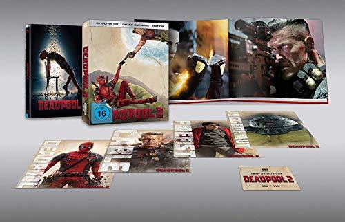 Deadpool 2 (4K UHD Slipsheet Edition) (exklusiv bei amazon.de) [Blu-ray] [Limited Edition]