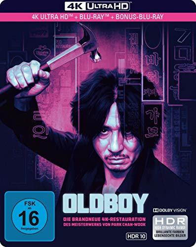 Oldboy - Limited SteelBook  (4K Ultra HD) (+ Blu-ray 2D) (+ Bonus-Blu-ray)