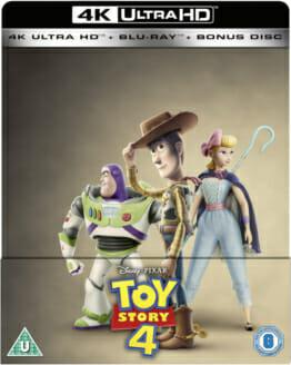 Toy Story 4 - Alles hört auf kein Kommando 4K Ultra HD Steelbook