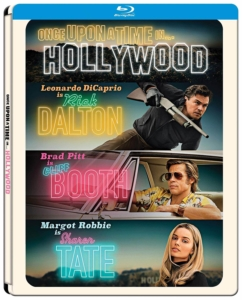 Once Upon A Time In Hollywood Steelbook