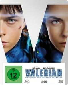 Valerian 3D Steelbook