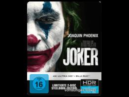 Joker (SteelBook) [4K Ultra HD Blu-ray + Blu-ray]