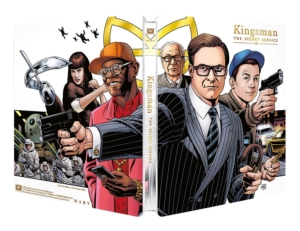 Kingsman the secret service steelbook frankreich