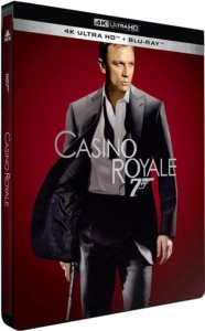 James Bond Casino Royale 4K Steelbook Frankreich