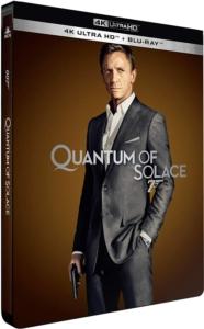 James Bond ein Quantum Trost 4K Steelbook Frankreich