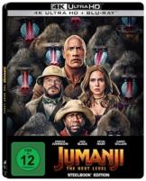 Jumanji The Next Level - Steelbook UHD [Blu-ray]