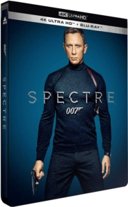 Spectre 4K Steelbook Frankreich