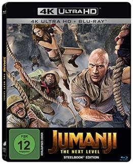 Jumanji: The Next Level- Steelbook UHD