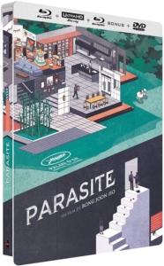 Parasite 4k steelbook Frankreich