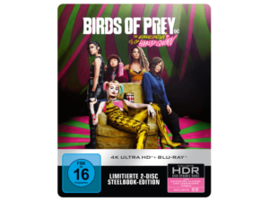 Birds of Prey - The Emancipation of Harley Quinn 4K Steelbook