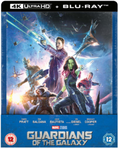 Guardians of the Galaxy - Zavvi Exclusive 4K Ultra HD Steelbook