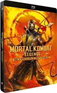Mortal Kombat Legends FR Steelbook