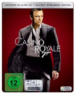 JB: CASINO ROYALE 4K Steelbook