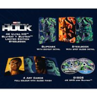 The Incredible Hulk (2008) - Zavvi Exclusive 4K Ultra HD Steelbook
