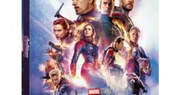 Avengers Endgame Lenticular Steelbook