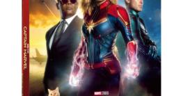 Captain Marvel 4K Lenticular Steelbook