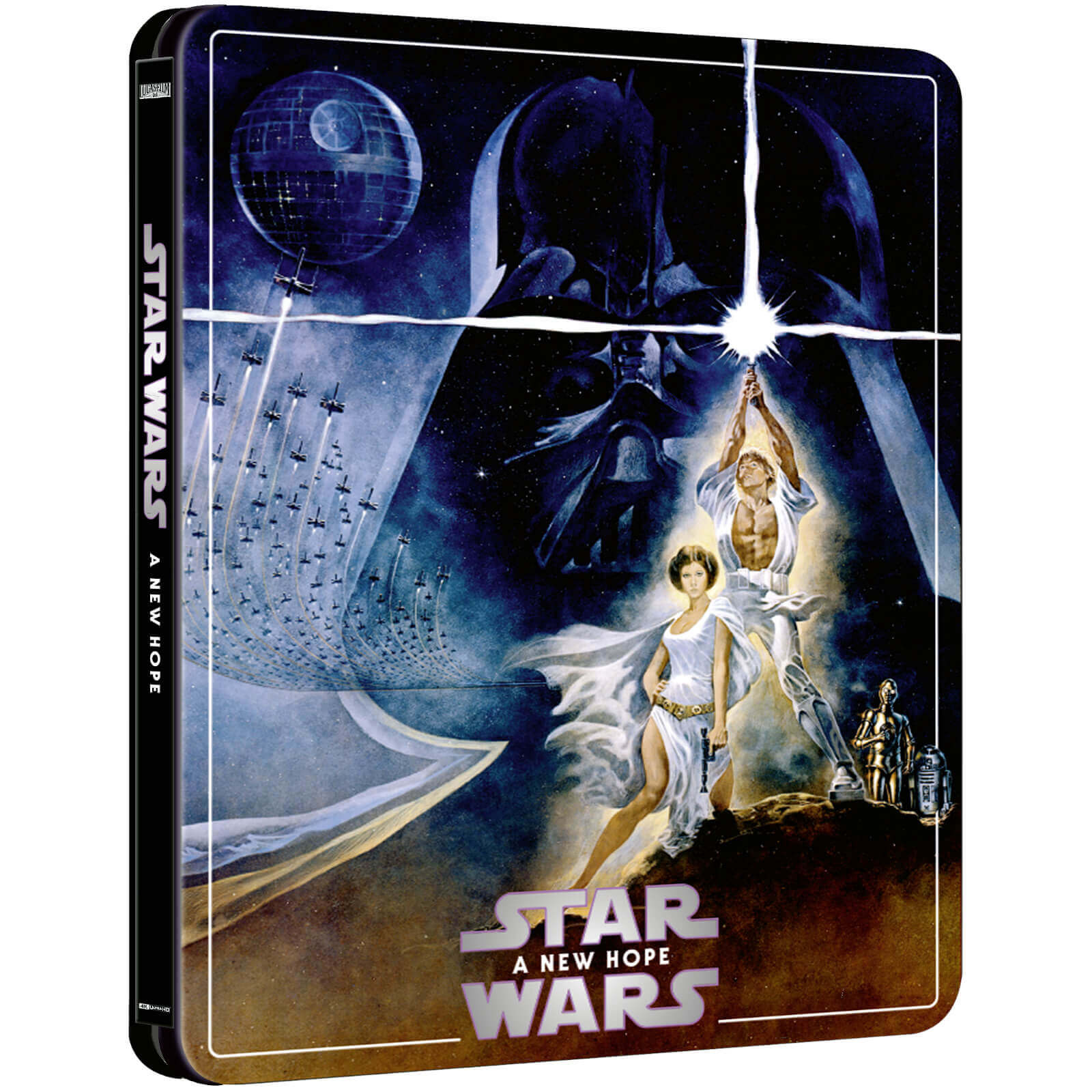 Vorbestellbar Star Wars Episode Iv Steelbook Bluray Steels At