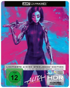 Alita 4K Steelbook Media-Dealer
