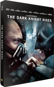 Batman-The Dark Knight Rises Blu-ray Steelbook