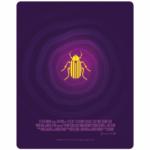 Beetlejuice - Zavvi Exklusives 4K Ultra HD Steelbook Rückseite