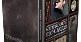 Sherlock Holmes 2 Spiel im Schatten - Zavvi Exklusives 4K Ultra HD Steelbook Aussenseite