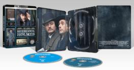 Sherlock Holmes - Zavvi Exklusives 4K Ultra HD Steelbook Edition