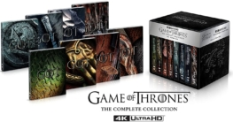 game of thrones 4K Steelbook