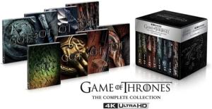 game of thrones 4K Steelbook