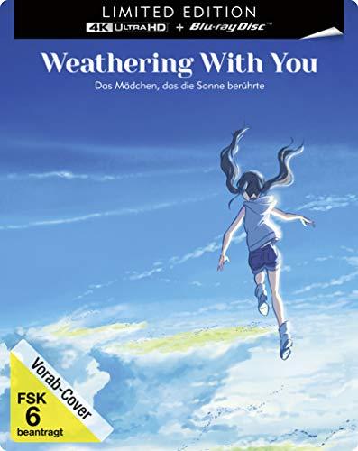 Weathering With You - Das Mädchen, das die Sonne berührte  (4K UHD) (Steelbook)