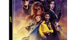 Solo A Star Wars Story - 4K Zavvi Steelbook Vorderseite