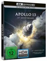 Apollo 13 - 25th Anniversary - 4K UHD - Steelbook