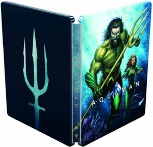 Aquaman 4K illustrated Artwork Steelbook