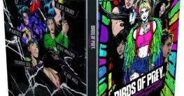Birds of Prey 4K illustrated Artwork Steelbook