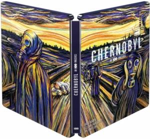 Chernobyl Steelbook Edition Frankreich Aussenseite