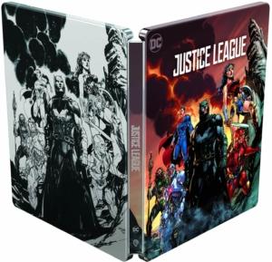 Justice League 4K illustrated Artwork Steelbook