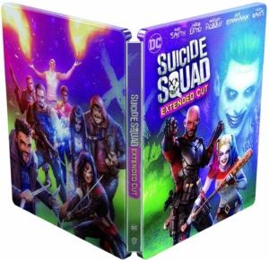 Suicide Squad 4K illustrated Artwork Steelbook