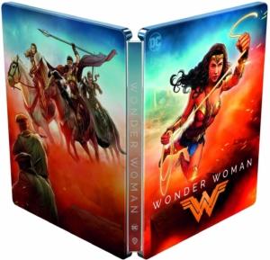 Wonder Woman 4K Illustrated Artwork Steelbook