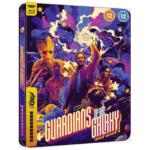 Marvel Studios Guardians of the Galaxy Mondo 4K Steelbook Vorderseite