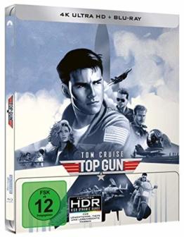 Top Gun Limited Steelbook (4k UHD) [Blu-ray]