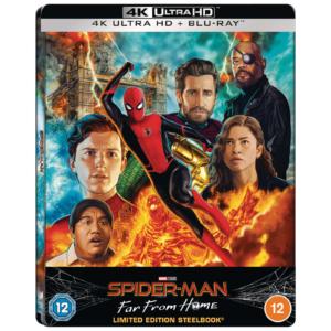 Spider-Man Far From Home - Zavvi Exklusives Lenticular Steelbook Vorderseite