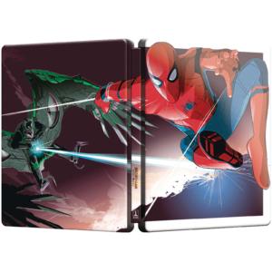 Spider-Man Homecoming Lenticular Steelbook Außenseite