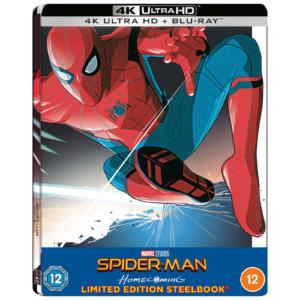Spider-Man Homecoming - Zavvi Exklusives 4K Ultra HD Lenticular Steelbook