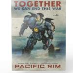 Pacific Rim titans of cult poster