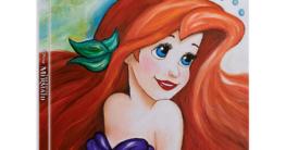 Arielle die Meerjungfrau 4K Zavvi Steelbook Vorderseite
